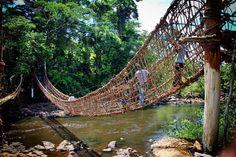 Pont de lianes de Man - Cote d'ivoire