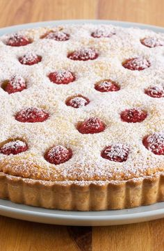 Frangipane and raspberry pie Sweet Recipes, Cake Recipes, Dessert Recipes, Food Cakes, Cupcake Cakes, Food Network Recipes, Cooking Recipes, Seafood Appetizers, Food Stamps