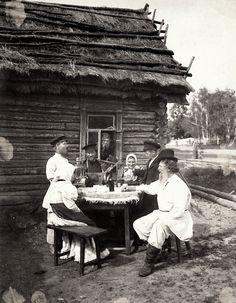 Russian peasants.