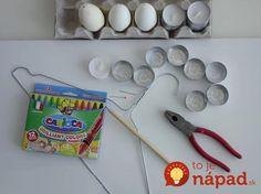 Vzala pár vajec natvrdo, vatové tyčinky a servítku: Stačí chvíľa a máte na stole skutočné majstrovské dielo - niečo prekrásne! Easter, Handmade, Inspiration, Scrambled Eggs, Diy Ideas, Colors, Easter Eggs, Manualidades, Pintura