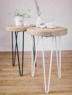 HOME-DZINE | I love the look of hairpin legs on cabinets and tables, but only recently have these become available locally. Now there are several suppliers here in South Africa that manufacture hairpen legs for your furniture projects.