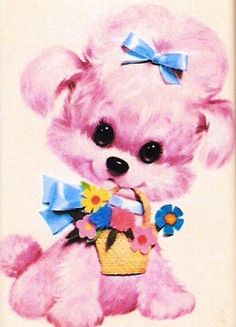 pink dog by lorryx3, via Flickr