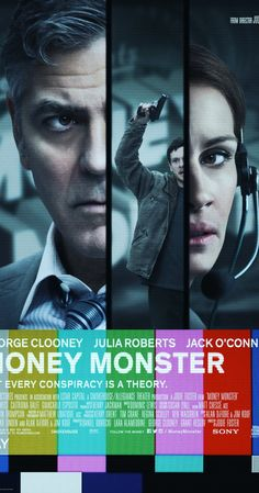 Directed by Jodie Foster.  With George Clooney, Julia Roberts, Jack O'Connell, Dominic West. Financial TV host Lee Gates and his producer Patty are put in an extreme situation when an irate investor takes over their studio.