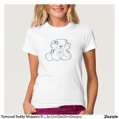 Tattooed Teddy Women's T-Shirt