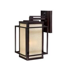 Vaxcel Lighting RB-OWU090EB Espresso Bronze Outdoor Wall Sconces