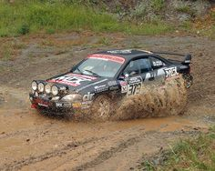 Ford Escort rally car.
