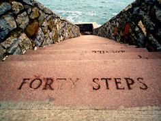 hike to Forty Steps along the Cliff Walk; Newport, RI