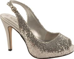 Casey...these are cute! $55  Coloriffics Gala - Silver Glitter -Shoebuy.com