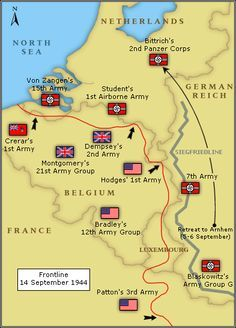 Now Model's line stretched from Antwerp (southwest Holland) to Maastricht (south Holland). He ordered the 15th Army to prepare for an assault on Antwerp. Perhaps there would be a chance to isolate the British troops. Model also ordered the 2nd SS Panzer Corps to retreat towards Arnhem. He brought this corps to Arnhem to rest and refit. This decision by Model is one of the reasons, if not the reason, why Operation Market Garden failed.