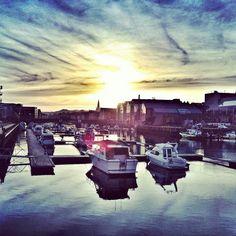 Nidelven, Trondheim, Norway. Instagram: @opplevtrondelag