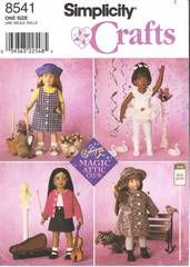 Magic Attic Dolls Official Website | Simplicity 8541 Magic Attic 18 Doll Clothes Pattern | Vintage Sewing ...