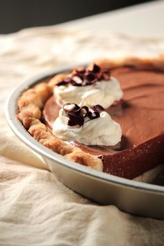 chocolate mousse pie - http://www.cbc.ca