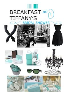 When I get married I hope I have a special person throw me a bridal shower, who knows me well enough to do a breakfast at tiffany's theme <3