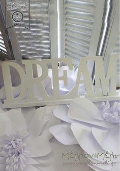 """Διακοσμητικό """"Dream"""" για Τραπέζι Ευχών Box, Boxes"""