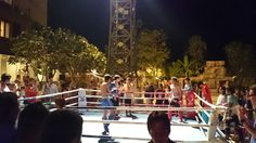 Open boxing show