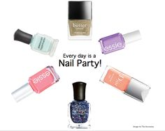 The Accessory: Nail Colors for Spring 2014