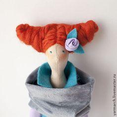 Кукла Тильда романтичная горожанка - сиреневый,кукла Тильда,тильда,подарок девушке