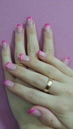 #nail #nail art #francesarosa #nailsdots Pink   #