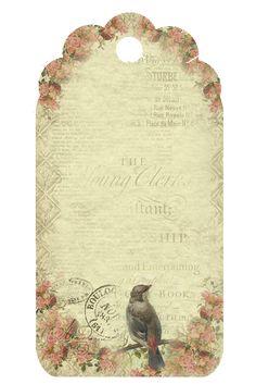 Free vintage printable tags .....