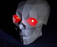 This Halloween I wanted more than a carved out pumpkin. I wanted something scarier. A skull with red glowing eyes. So off to google I went to find, download and...