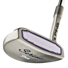 Play the classic Shea Ping Putter in the latest Serene Model now available to buy from InsureGolf. Ping Golf Clubs, Serenity, Favorite Things, Random, Green, Fun, Casual, Hilarious