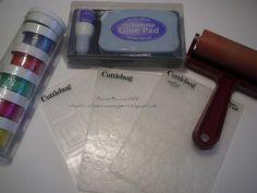 Craftaholics Anonymous: Glittered Cuttlebug