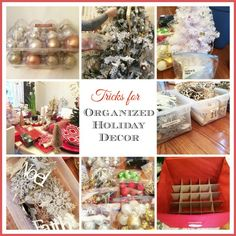 Tips & Tricks to Organize all that Christmas/ Holiday Decor! | 11 Magnolia Lane