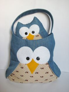owl bag and owl toy