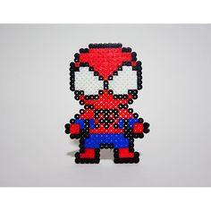 Spiderman hama beads by  galletitadejengibre