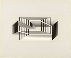Josef Albers - Graphic Tectonic 1942