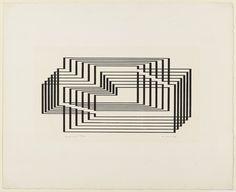 Josef Albers - Graphic Tectonic 1942