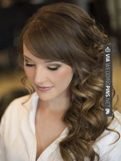 Brilliant! - Side Swept Wedding Hair Find all your wedding needs on  Wedding planning can be extremely exciting if you know how to plan a wedding. If you don't,  has tons of planning ideas and advice | CHECK OUT MORE TO DIE FOR PHOTOS OF TASTY Side Swept Wedding Hair HERE AT WEDDINGPINS.NET | #sidesweptweddinghair #sideswepthair #weddinghairstyles #weddinghair #hair #stylesforlonghair #hairstyles #hair #boda #weddings #weddinginvitations #vows #tradition #nontraditional #even