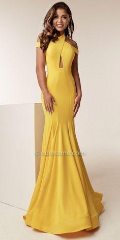 Modern! Elegant! I want this dress!