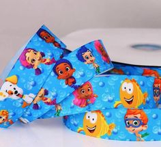 Bubble Guppies Printed Grosgrain Ribbon/125 mm by Universalideas