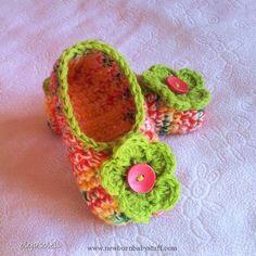 Crochet Baby Booties Crochet Slippers 3...