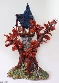 Man Creates LEGO Houses Inspired by 'Lord of the Rings'
