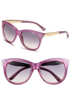 b34c1062f8 Jimmy Choo 56mm Retro Sunglasses available at  Nordstrom Sunglasses Sale