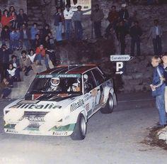 FIAT ABARTH 131 ALITALIA RACING TEAM ...Walter Röhrl / Christian Geistdörfer