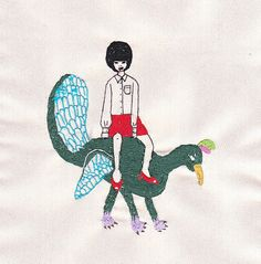 新作刺しゅうのポストカードセットです。インクジェットプリントです。作品タイトル☆ペットの鳥☆紳士のスポーツ☆流山のヤンキー|ハンドメイド、手作り、手仕事品の通販・販売・購入ならCreema。