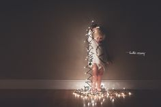 Toddler Christmas Lights | Atlanta Lifestyle Photographer | Atlanta, Marietta, Smryna, Vinings, Midtown, Virginia Highlands, GA Lifestyle Newborn Mat...