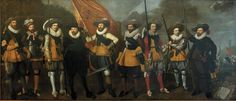 26 июля.Nicolaes Lastman en Adriaen van Nieulandt - Schutters van het vendel van kapitein Abraham Boom en luitenant Oetgens van Waveren 1623