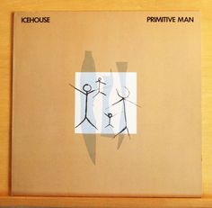 ICEHOUSE Primitive Man Vinyl LP Great Southern Land Street Cafe Hey little Girl