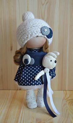 Одноклассники Holiday Crochet Patterns, Pink Doll, Fabric Toys, Doll Tutorial, Sewing Dolls, Pretty Dolls, Felt Toys, Soft Dolls, Stuffed Toys Patterns