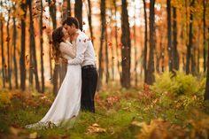 Dan Desroches; fall wedding