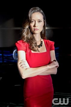 "Arrow -- ""City of Heroes"" -- Image AR201a_0436b -- Pictured: Isabel Rochev as Summer Glau -- Photo: Cate Cameron/The CW -- © 2013 The CW Network. All Rights Reserved"