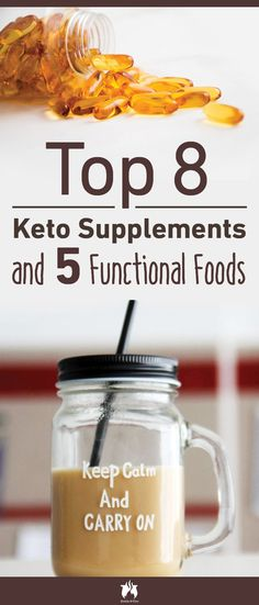 Top 8 keto supplements that can maximize your results by accelerating weight los.Top 8 keto supplements that can maximize your results by accelerating weight loss and boosting your energy levels on the keto diet, plus 5 functional foods. Best Detox Program, Cleanse Program, Paleo Vegan Diet, Paleo For Beginners, Keto Supplements, Atkins Diet, Low Carb Diet, Balanced Diet, Ketogenic Diet