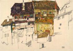 Egon Schiele Ausstellung in der Albertina Wien Alphonse Mucha, Gustav Klimt, Egon Schiele Zeichnungen, Egon Schiele Landscape, Picasso, Albertina Wien, Egon Schiele Drawings, Museum, Landscape Drawings