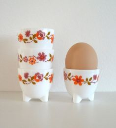 Vintage French eggcups