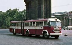 Ikarus 60 trolley bus in Budapest __ Beast From The East, Bus Coach, Light Rail, Bus Ride, Trolley, Busses, Commercial Vehicle, Budapest Hungary, Motor Car