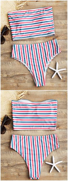 Up to 80% OFF! Striped Tube Top With High Cut Bikini Bottoms. #Zaful #Swimwear #Bikinis zaful,zaful outfits,zaful dresses,spring outfits,summer dresses,Valentine's Day,easter,super bowl,st patrick's day,cute,casual,fashion,style,bathing suit,swimsuits,one pieces,swimwear,bikini set,bikini,one piece swimwear,beach outfit,swimwear cover ups,high waisted swimsuit,tankini,high cut one piece swimsuit,high waisted swimsuit,swimwear modest,swimsuit modest,cover ups @zaful Extra 10% OFF Code:ZF2017